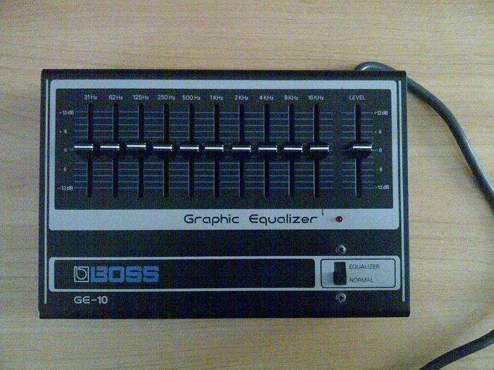 Boss GE-10 Graphic Equalizer Tom13380 images
