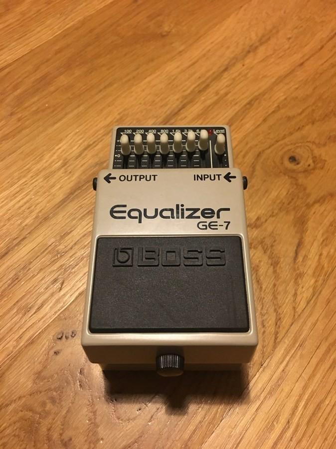 Boss GE-7 Equalizer (86721)