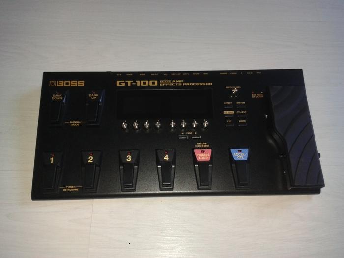 Boss GT-100 Moustic57 images