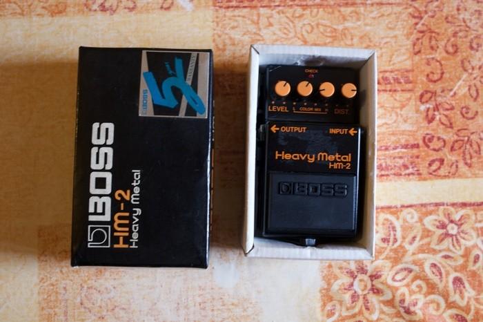 Boss HM-2 Heavy Metal (Japan) (38250)