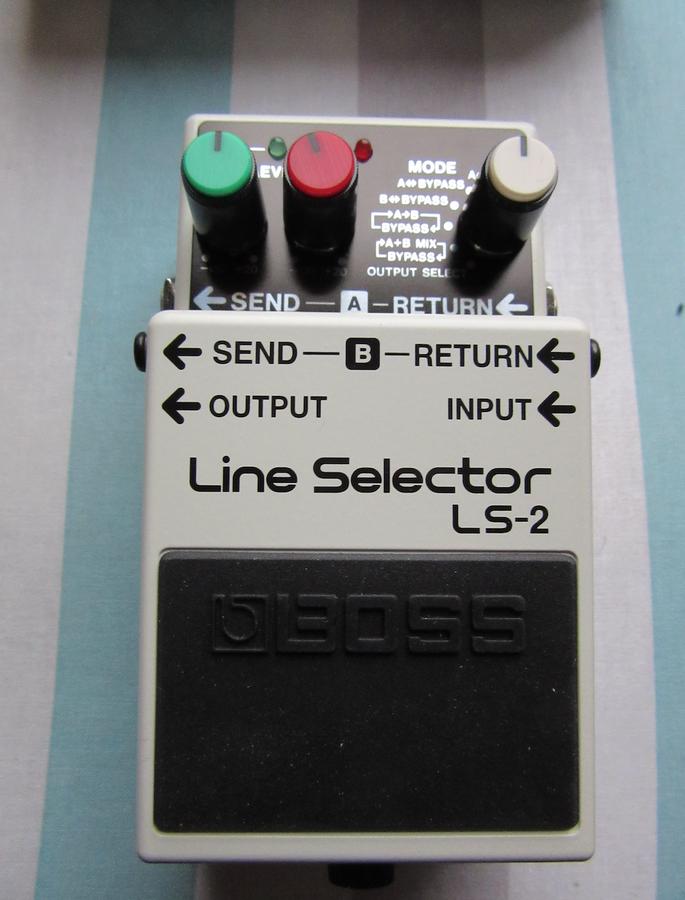 Boss LS-2 Line Selector (1180)