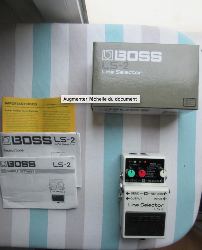 Boss LS-2 Line Selector (99370)