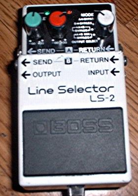boss ls 2 line selector image 238100 audiofanzine. Black Bedroom Furniture Sets. Home Design Ideas