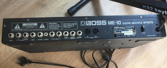 Boss ME-10