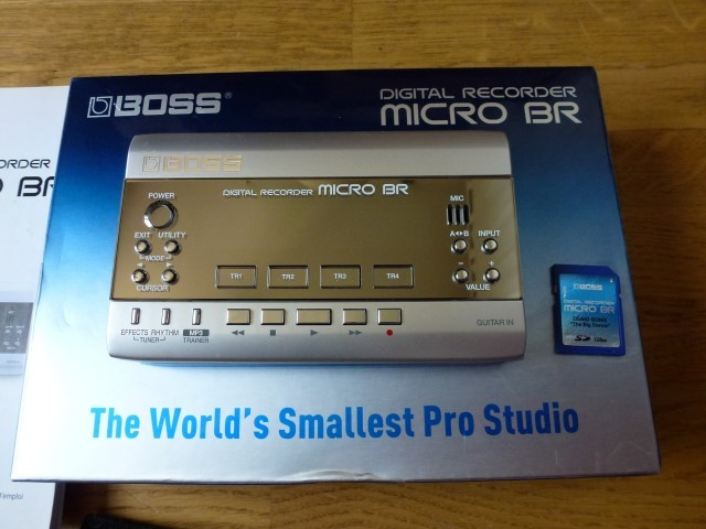 boss digital recorder micro br manual