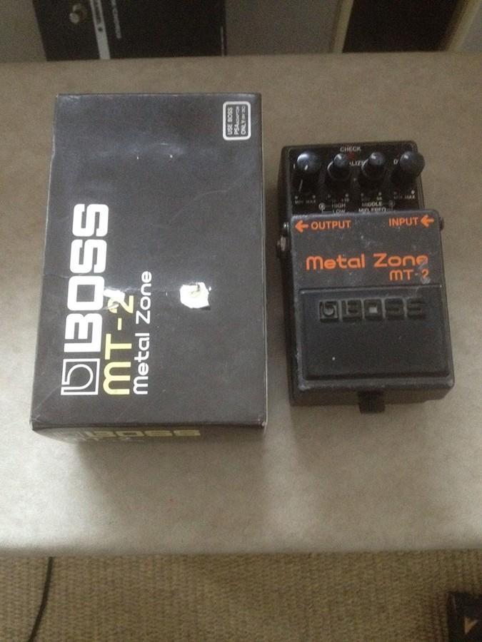 Boss MT-2 Metal Zone (19756)