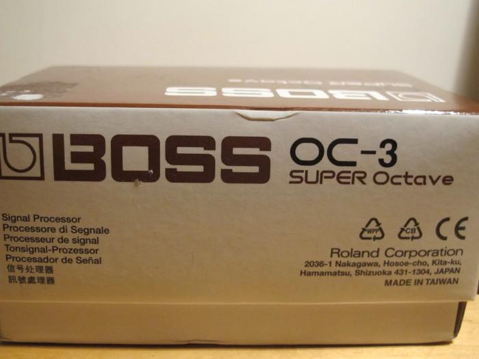 Boss OC-3 SUPER Octave (50095)