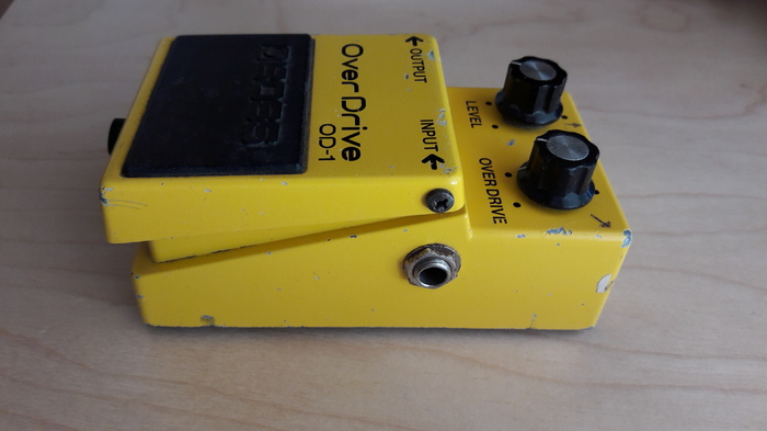 Boss OD-1 OverDrive bodson images