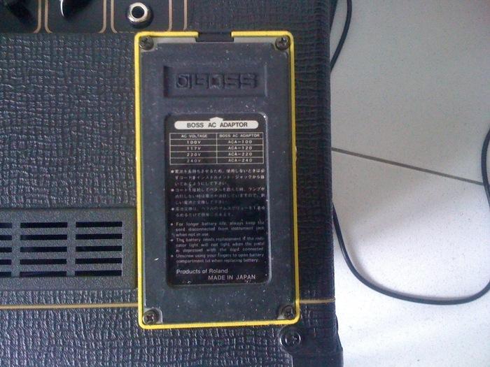 Boss OD-2 Turbo Overdrive Japan Joël27 images