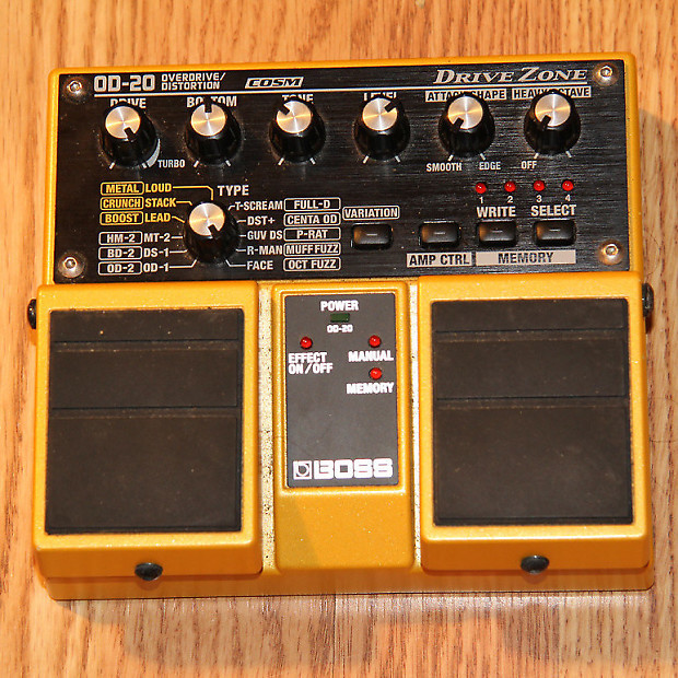 Boss OD-20 Drive Zone totin1975 images