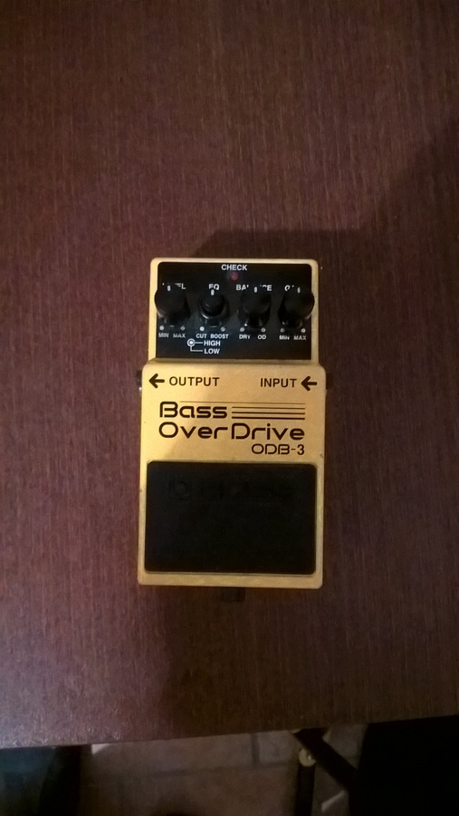 Boss ODB-3 Bass OverDrive ludwik images