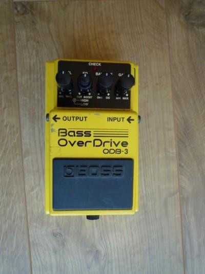 boss odb 3 bass overdrive image 1966658 audiofanzine. Black Bedroom Furniture Sets. Home Design Ideas