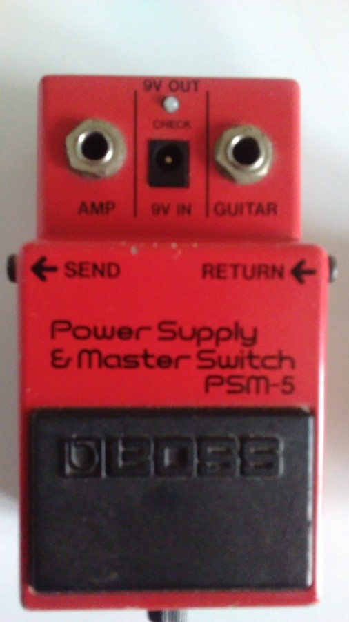 Boss PSM-5 Power Supply & Master Switch (31112)