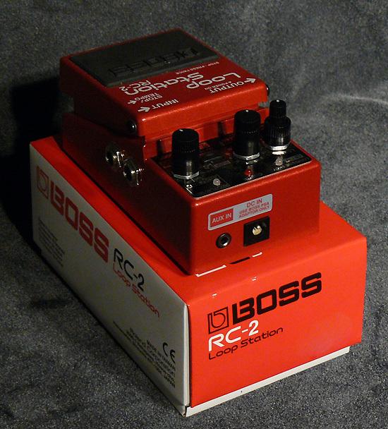 boss rc 2 loop station image 938282 audiofanzine. Black Bedroom Furniture Sets. Home Design Ideas