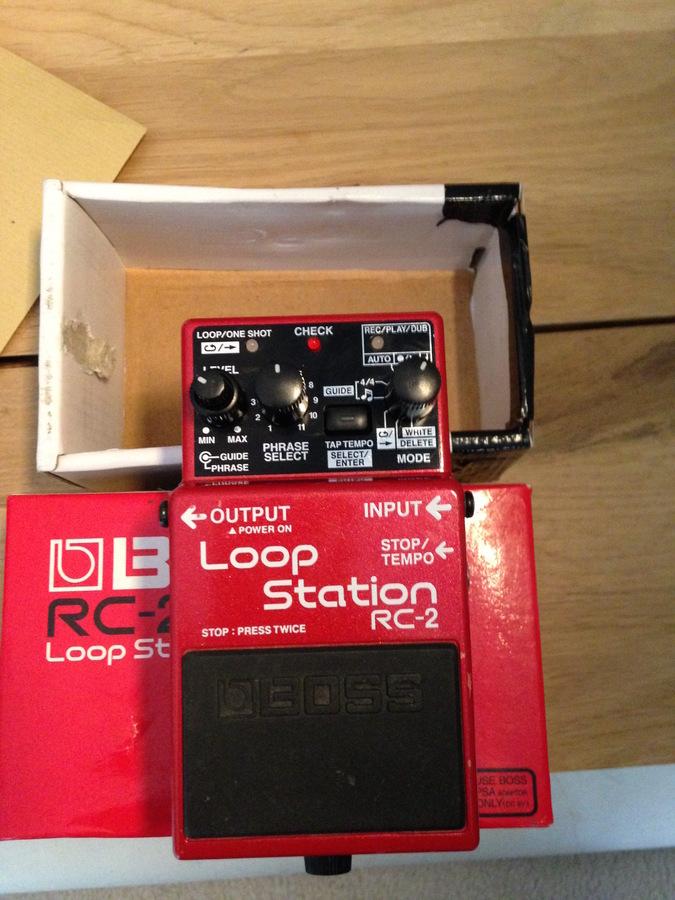boss loop station rc 2 manual pdf