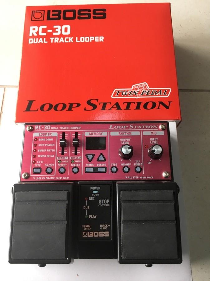 boss rc 30 loop station manual