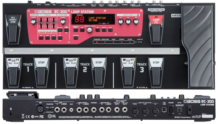 Boss RC-300 Loop Station yaszik images