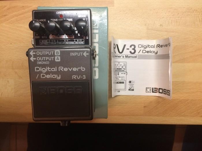 Boss RV-3 Digital Reverb/Delay (21704)