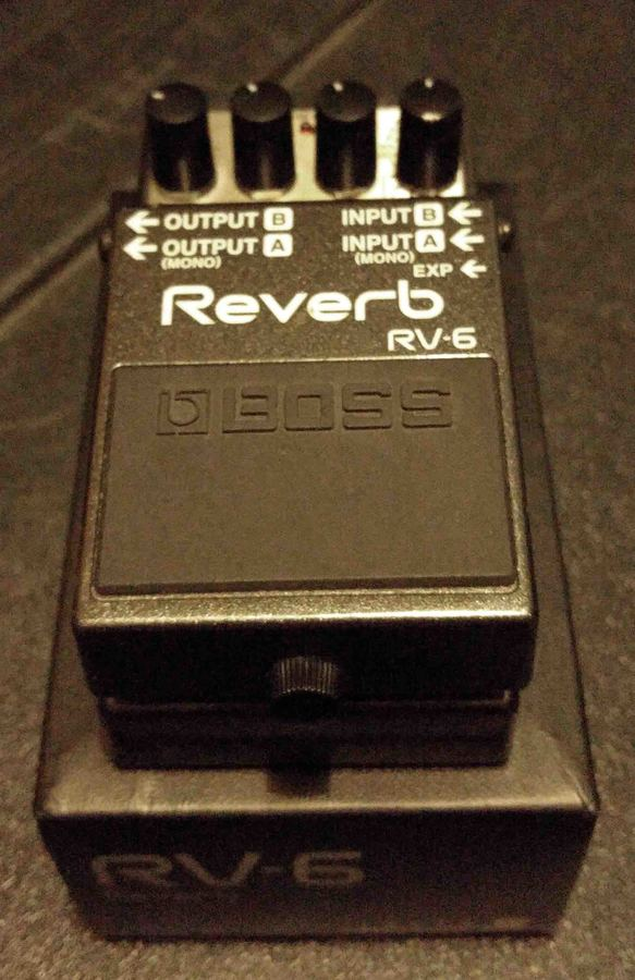 boss rv 6 reverb image 1801152 audiofanzine. Black Bedroom Furniture Sets. Home Design Ideas