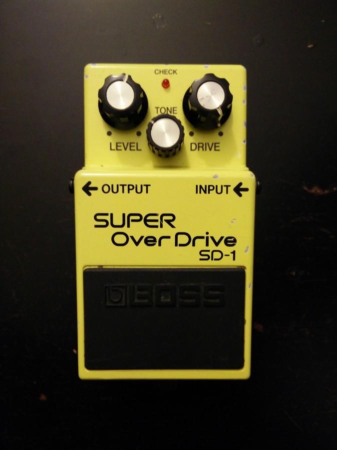 Boss SD-1 SUPER OverDrive (48337)