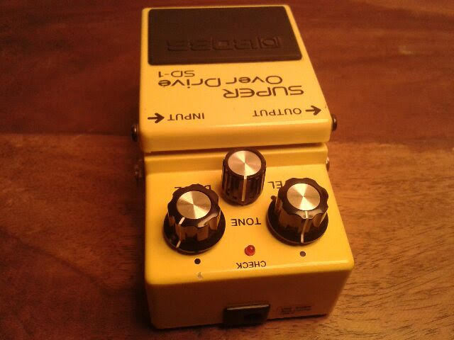 Boss SD-1 SUPER OverDrive (Japan) art of sound images