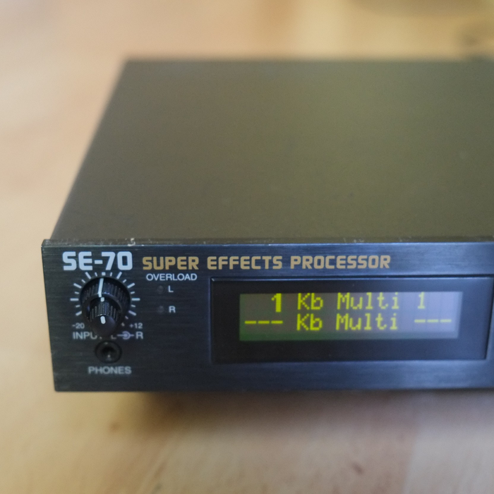 Boss SE-70 Super Effects Processor (83433)