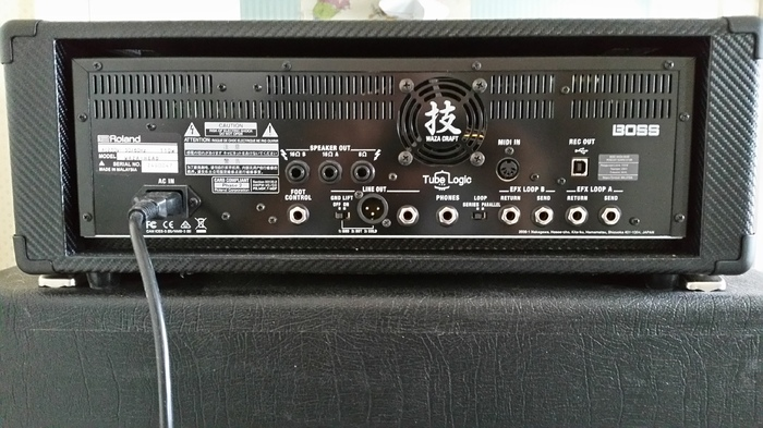 Boss Waza Amp Head Deenys images