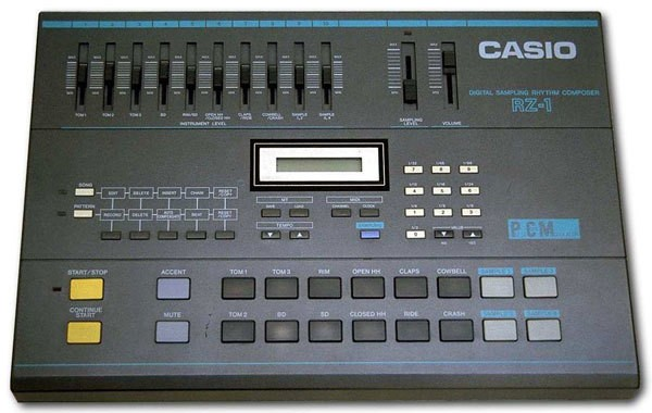 Casio RZ-1 Sampling Drum Machine (26095)