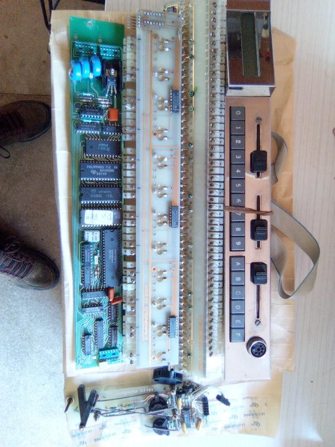 Cavagnolo clavier maître midi..boutons