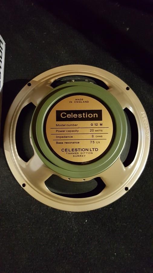 Celestion G12M Greenback (8 Ohms) (5693)