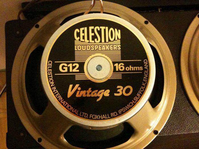 celestion vintage 30 8 ohms image 40994 audiofanzine. Black Bedroom Furniture Sets. Home Design Ideas