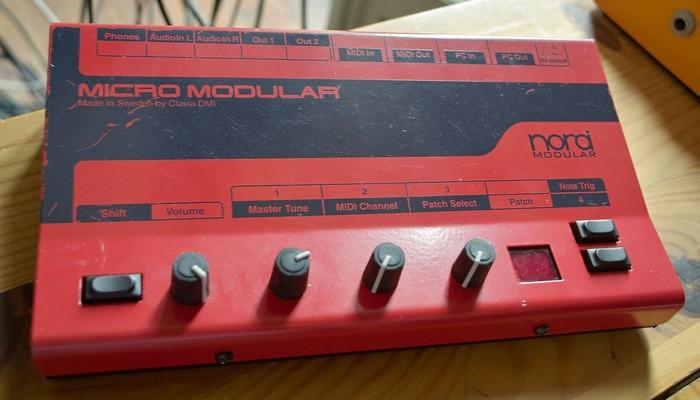 clavia micro modular 95232