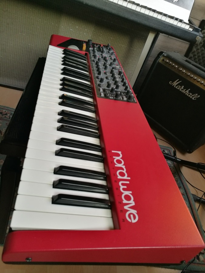 Photo Clavia Nord Wave de habby44