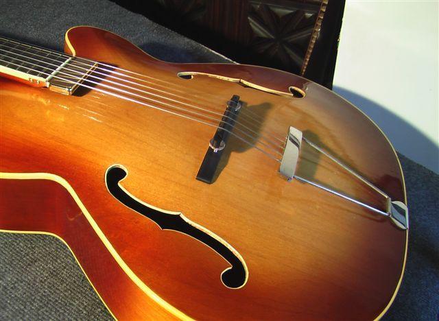 guitare acoustique de luthier
