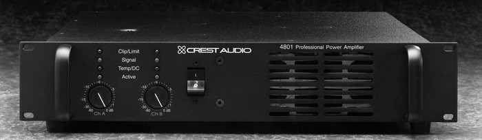 Crest Audio Pro 4801