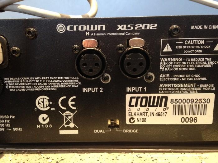 Crown XLS 202 (50116)