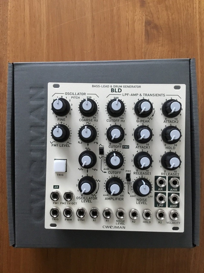 Cwejman BLD, bass & drum sound module (84892)