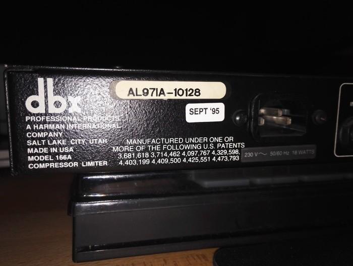dbx 166A (85096)