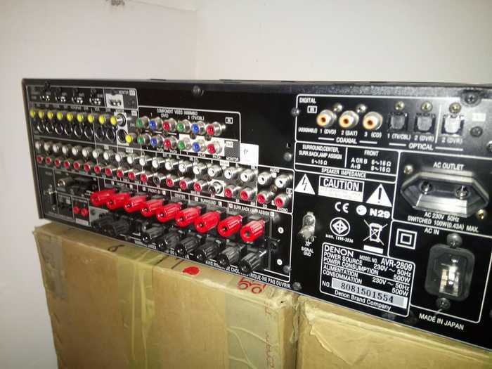 Denon AVR 2809 (5599)