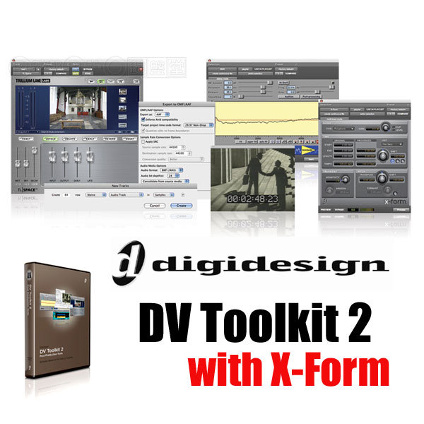 Digidesign DV Toolkit 2.x Blockos-K images
