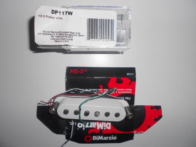 DiMarzio DP117 HS-3 image (#691482) - Audiofanzine