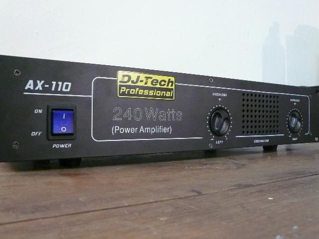 DJ-Tech AX 110 portet images