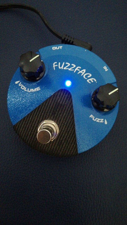 Dunlop FFM1 Fuzz Face Mini Silicon (29135)