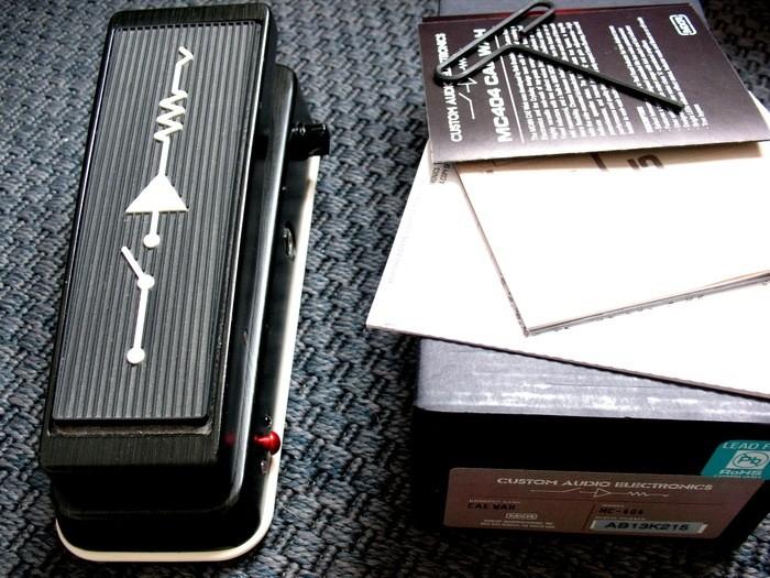 Dunlop MC404 CAE Wah (44664)