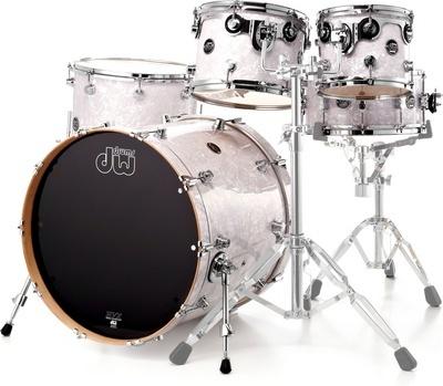 dw drums performance series 5 f ts white marine image 829819 audiofanzine. Black Bedroom Furniture Sets. Home Design Ideas