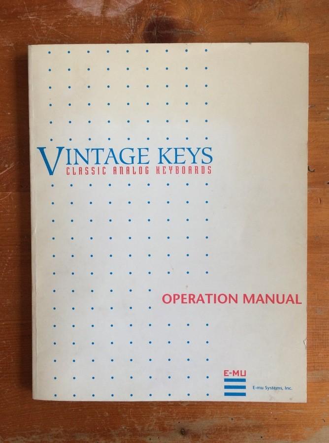 E-MU Vintage Keys (17977)