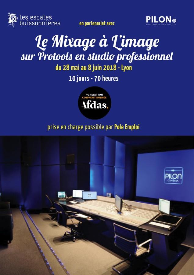Formation professionnelle Technicien son Mixage Image Intermittent Afdas Lyon