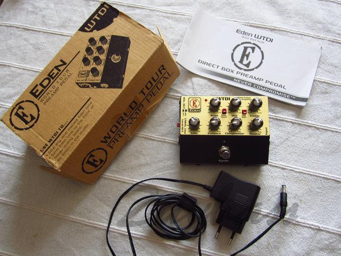 eden bass amplification wtdi direct box preamp image 1914898 audiofanzine. Black Bedroom Furniture Sets. Home Design Ideas