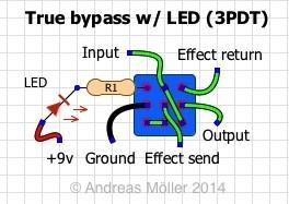 TB 3PDT LED