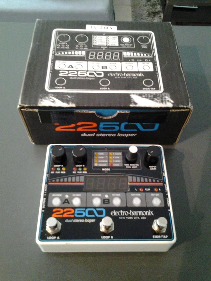 electro harmonix 22500 dual stereo looper image 1540643